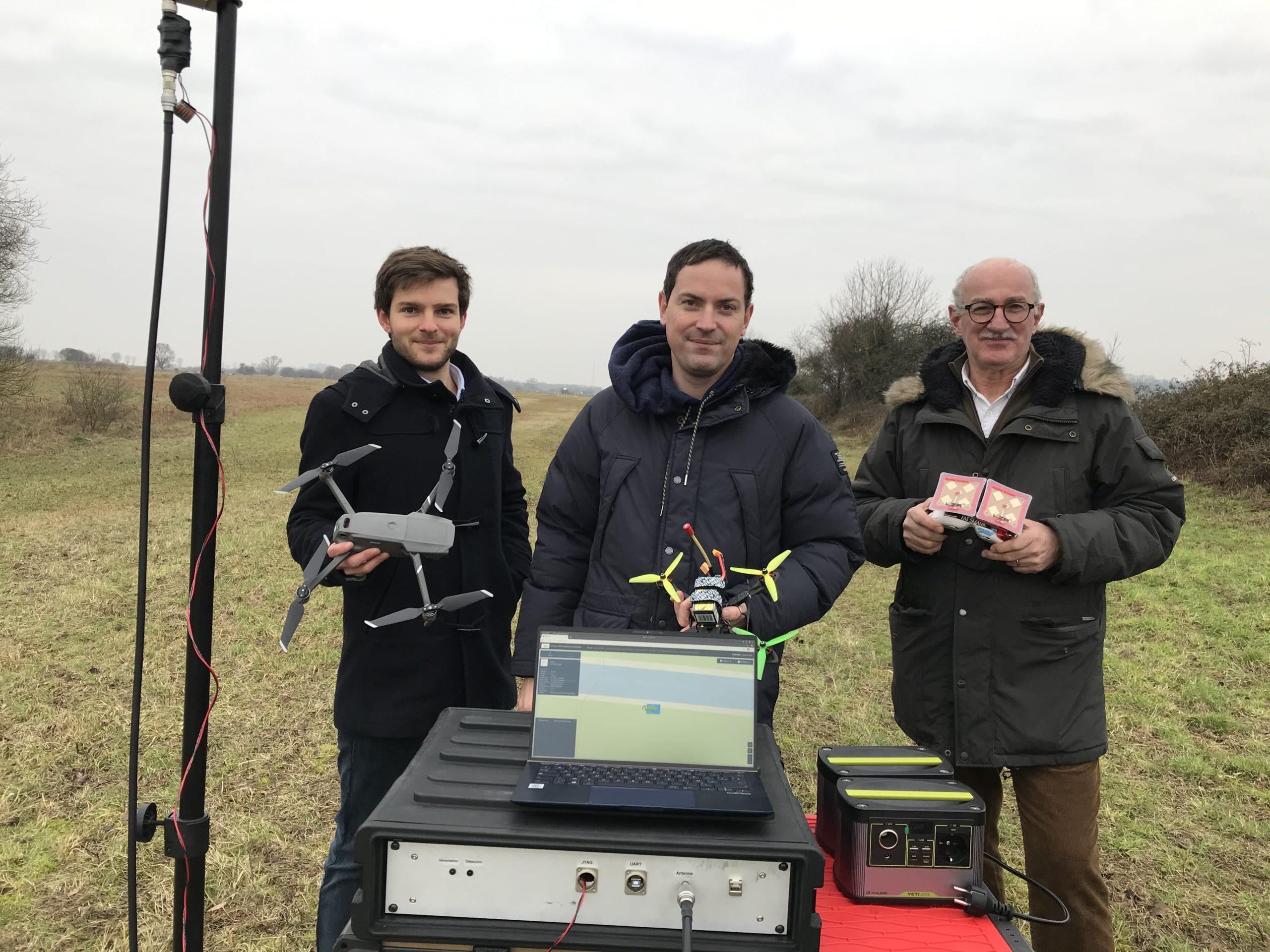 Image de l'article Drone XTR (76) expérimente un nouveau service de contrôle de l'espace aérien étendu sur des complexes industriels